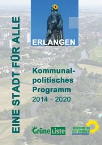 Kommunales Programm der Grünen Liste