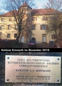 Schloss Ermreuth im November 2015