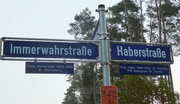 Haber-Immerwahr-Str. in Erlangen