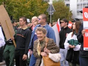 NPD-AnhängerInnen in Erlangen