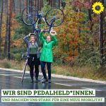Pedalheldinnen in Erlangen