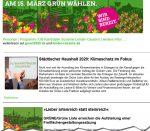 GRÜNE/Grüne Liste kommunaler Newsletter März 2020