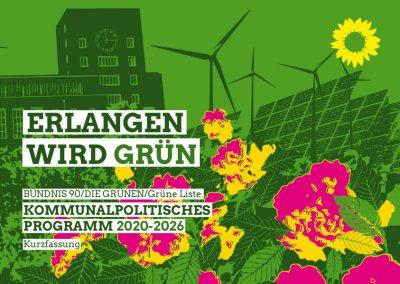 Grüne Liste | Kommunales Wahlprogramm 2020-2026 - Kurzfassung