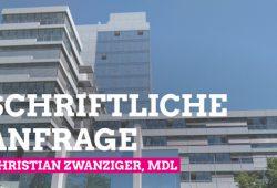 Durchsuchung Fraktionsbüro Grüne Liste Erlangen - unbefriedigende Antwort deer Staatsregierung