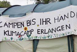 Solidarität mit dem Klimacamp Erlangen